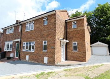 Thumbnail 3 bed semi-detached house for sale in Bernard Close, Dunstable