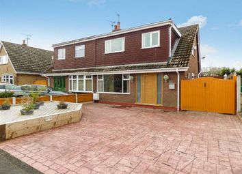Thumbnail 4 bedroom semi-detached house for sale in Greenfields Avenue, Shavington, Crewe