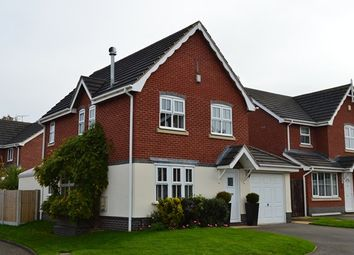 Thumbnail 3 bed detached house for sale in Monksfield, Market Drayton
