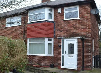 Thumbnail 3 bed end terrace house to rent in Hughes Avenue, Warrington