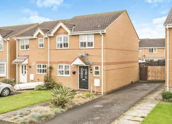 Thumbnail 3 bed semi-detached house for sale in Middleham Close, Sandy, Bedfordshire
