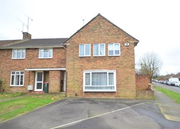 Thumbnail 3 bed end terrace house for sale in Deerswood Road, West Green, Crawley, West Sussex