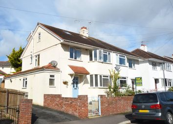 Thumbnail 4 bedroom semi-detached house for sale in Buckerell Avenue, St. Leonards, Exeter