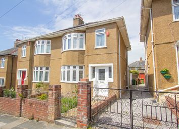Thumbnail 3 bedroom semi-detached house for sale in Brancker Road, Milehouse, Plymouth