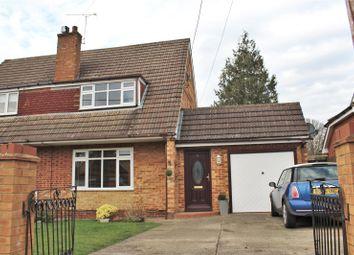 Thumbnail 3 bed semi-detached house for sale in Firacre Road, Ash Vale, Aldershot