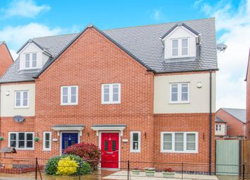 Thumbnail 3 bed semi-detached house for sale in Lockley Gardens, Sapcote, Leicester