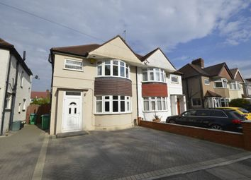 Thumbnail 3 bed semi-detached house for sale in Whitton Waye, Whitton, Hounslow