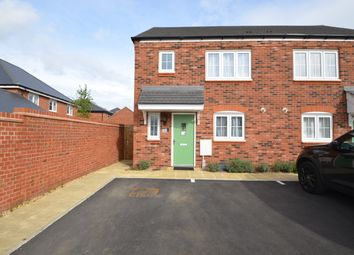 Thumbnail 3 bed semi-detached house for sale in Green Grove, Hillmorton, Rugby
