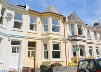Thumbnail 3 bedroom terraced house for sale in St. Barnabas Terrace, Plymouth