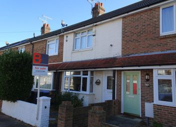 Thumbnail 2 bedroom terraced house for sale in St. Anselms Road, Worthing