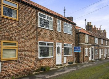 Thumbnail 2 bed terraced house for sale in The Green, Cranswick, Driffield