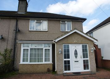Thumbnail 3 bedroom semi-detached house for sale in Oldway Lane, Cippenham, Slough