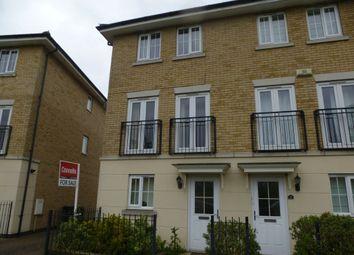 Thumbnail 3 bedroom end terrace house for sale in Marius Crescent, Hampton Hargate, Peterborough