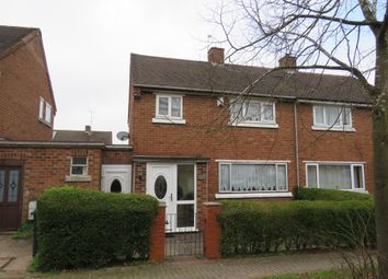 Thumbnail 3 bed semi-detached house for sale in Cardy Close, Redditch