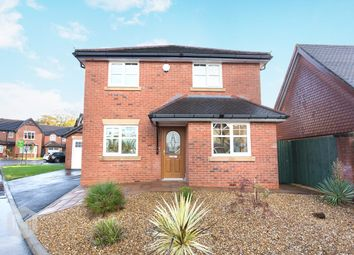 Thumbnail 4 bed detached house for sale in Cotswold Gardens, Lowton, Warrington