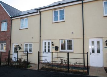 Thumbnail 2 bed terraced house to rent in Younghayes Road, Cranbrook, Exeter