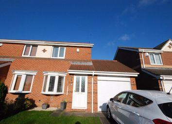 Thumbnail 2 bedroom semi-detached house for sale in Larchwood Drive, Ashington