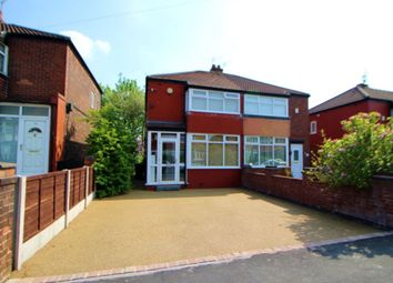 Thumbnail 2 bedroom semi-detached house for sale in Davenham Road, Reddish, Stockport