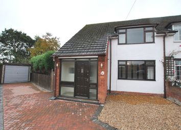 Thumbnail 3 bed semi-detached house for sale in Garden Close, Trench, Telford, Shropshire