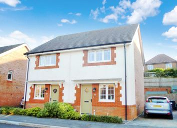 Thumbnail 2 bed semi-detached house for sale in Clover Way, Newton Abbot