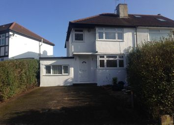 Thumbnail 5 bed semi-detached house to rent in Lindsay Drive, Harrow