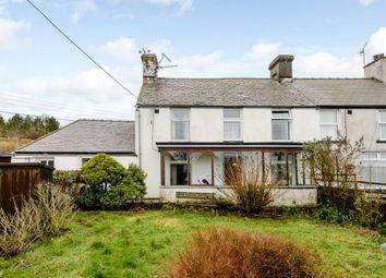 Thumbnail 3 bed end terrace house for sale in Dolawen Terrace, Caernarfon, Gwynedd