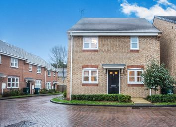 Thumbnail 3 bedroom detached house for sale in Molay Close, Tile Hill, Coventry