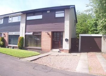 Thumbnail 3 bed semi-detached house to rent in Armour Court, Blantyre, Glasgow