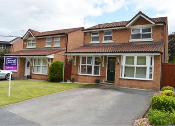 Thumbnail 3 bed detached house for sale in Fletcher Close, Wirral