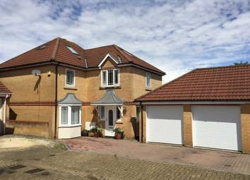 Thumbnail 5 bedroom detached house for sale in Packington Close, Shaw, Swindon