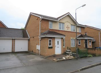 Thumbnail 3 bed semi-detached house for sale in Willowside Green, Spondon, Derby