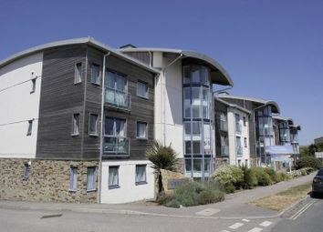 Thumbnail 2 bed flat for sale in Pentire Avenue, Newquay