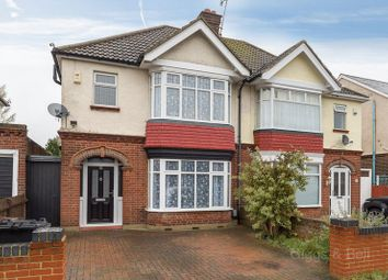 Thumbnail 3 bed semi-detached house for sale in St. Michaels Crescent, Luton