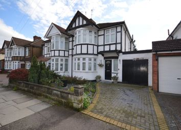 Thumbnail 3 bed semi-detached house for sale in Hunters Grove, Kenton, Harrow, Middlesex