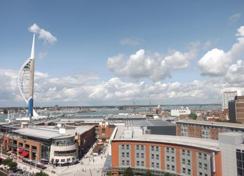 Thumbnail 3 bed flat for sale in Gunwharf Quays, Portsmouth