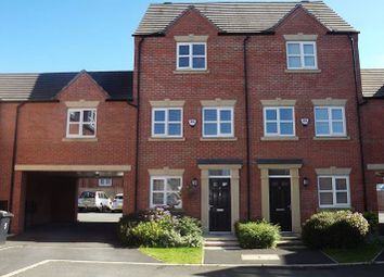 Thumbnail 3 bed town house to rent in Moniven Close, Warrington