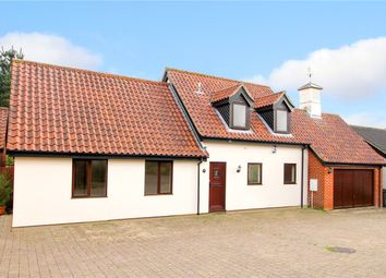 Thumbnail 4 bed detached bungalow for sale in Drovers Rest, Kirstead (Close To Brooke), Norwich, Norfolk