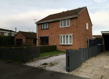 Thumbnail 2 bed semi-detached house to rent in Inmans Road, Hedon