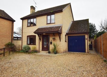 Thumbnail 4 bed detached house for sale in East Road, Isleham, Ely