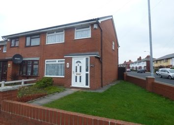 Thumbnail 3 bedroom semi-detached house to rent in Lowthorpe Road, Deepdale, Preston