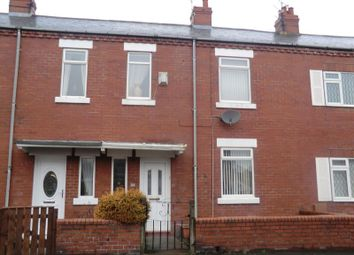 Thumbnail 2 bed terraced house to rent in Plessey Road, Blyth