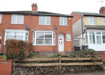 Thumbnail 3 bed semi-detached house to rent in Gainsborough Road, Knighton, Leicester