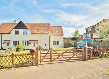 Thumbnail 4 bedroom semi-detached house for sale in Castle Lane, Gravesend