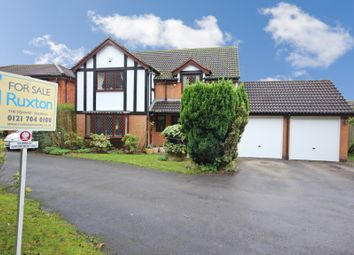 Thumbnail 5 bed detached house for sale in Cryersoak Close, Monkspath, Solihull