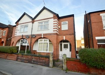 Thumbnail 3 bed semi-detached house to rent in Railway Road, Manchester