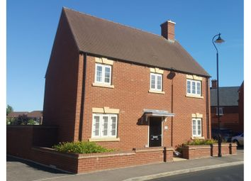 Thumbnail 4 bed detached house for sale in Orion Drive, Brackley