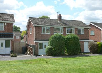 Thumbnail 3 bed semi-detached house for sale in Ewden Rise, Melton Mowbray