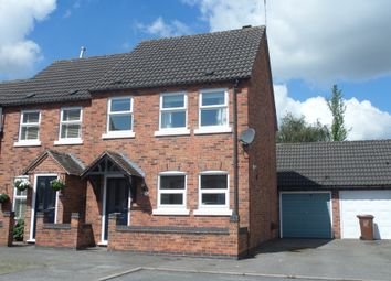 Thumbnail 3 bedroom semi-detached house to rent in Hattons Court, Melbourne, Derby