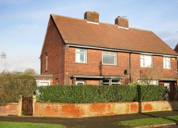 Thumbnail 3 bed semi-detached house for sale in Poplar Drive, Glapwell, Chesterfield, Derbyshire