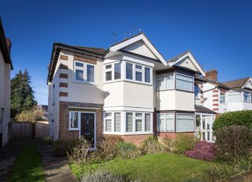 Thumbnail 3 bed semi-detached house for sale in Deynecourt Gardens, London